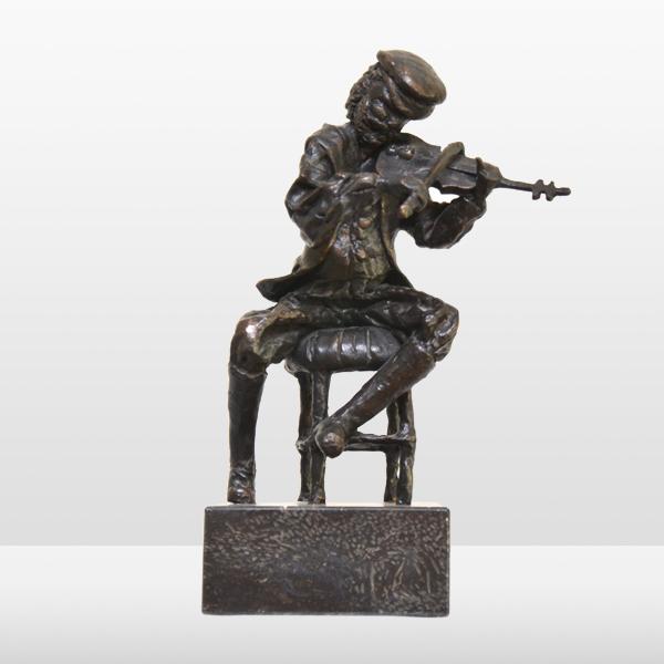 L'homme et son violon